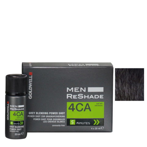 Goldwell Color men reshade 4CA cenere freddo castano medio CFM 4x20ml