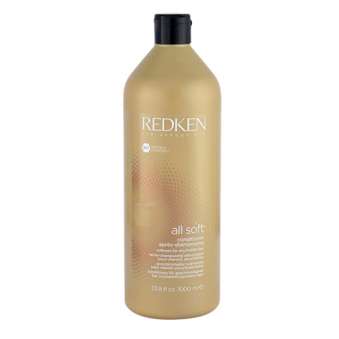 Redken All soft Conditioner 1000ml - balsamo idratante