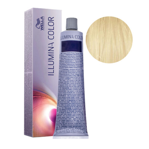 10/ Biondo Platino Wella Illumina Color