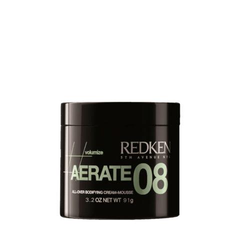 Redken Volumize Aerate 08, 91gr - Crema Volumizzante Anticrespo