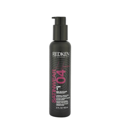 Redken Heat styling Satinwear 04, 160ml - Lozione Anticrespo