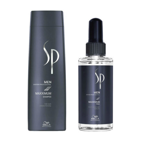 Wella SP Men Kit Maxximum Shampoo 250ml + Maxximum Tonic 100ml