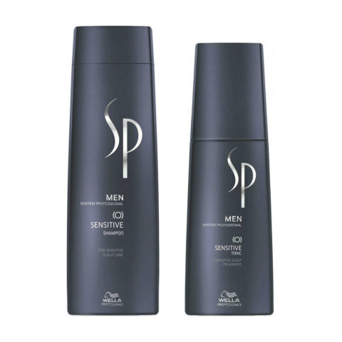 Wella SP Men Kit Sensitive Shampoo 250ml   Sensitive Tonic 125ml