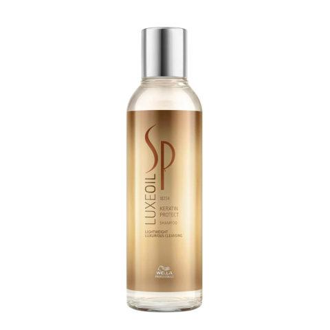 Wella System Professional Luxe Oil Keratine protect shampoo 200ml - shampoo con cheratina