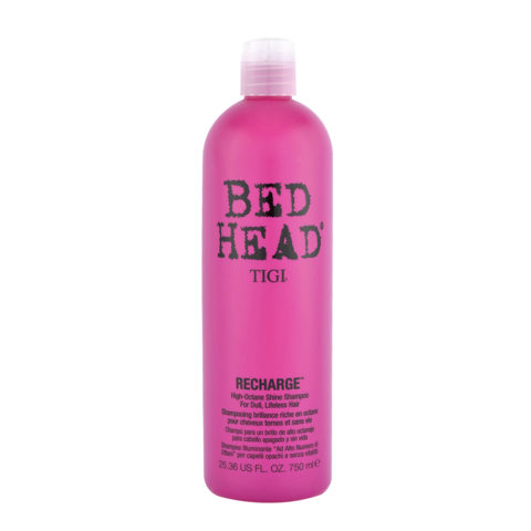 Tigi Bed Head Recharge Shampoo 750ml - illuminante ad alto numero di ottani