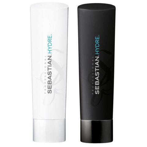 Sebastian Foundation Kit3 Hydre shampoo 250ml   Hydre conditioner 250ml