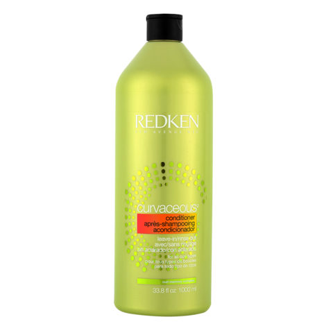 Redken Curvaceous Cream conditioner 1000ml - balsamo cremoso ricci