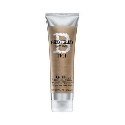 Tigi Bed Head Men Charge up Thickening Shampoo 250ml - shampoo per dare corpo