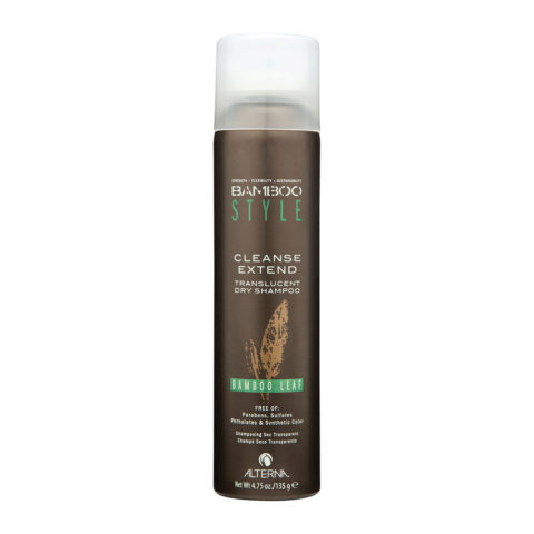 Alterna Bamboo Style Cleanse extend Bamboo leaf 135gr - shampoo secco profumato