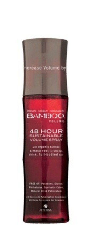Alterna Bamboo Volume 48 hour sustainable Spray 125ml