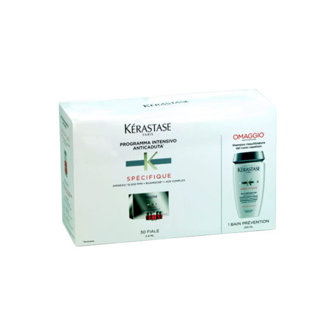 Kerastase Kit anticaduta aminexil 30 fiale più Shampoo Prevention