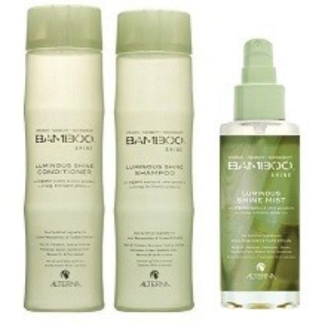 Alterna Bamboo Shine Kit3 Shampoo 250ml Conditioner 250ml Luminous mist 100ml