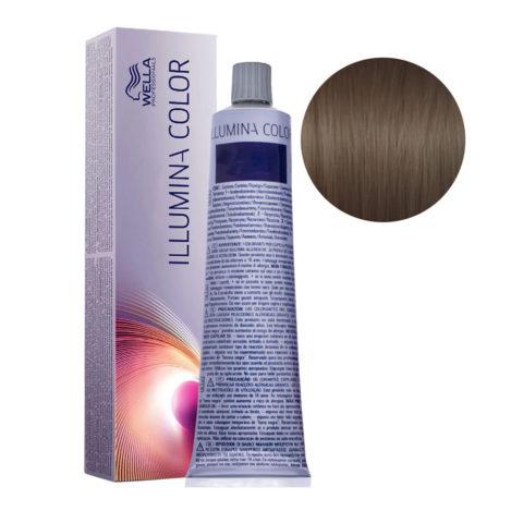 5/81 Castano chiaro perla cenere Wella Illumina Color 60ml
