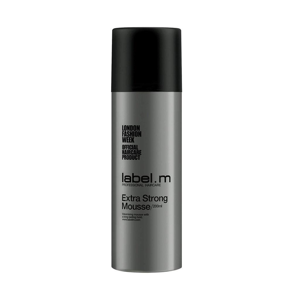 Label.M Create Extra strong mousse 200ml - schiuma tenuta forte