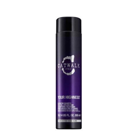 Tigi CatWalk Your Highness Elevating Shampoo 300ml - shampoo volumizzante