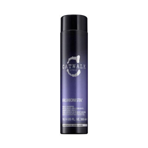 Tigi Catwalk Fashionista Violet shampoo 300ml - shampoo capelli biondi
