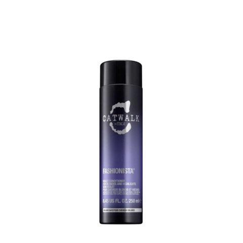 Tigi Catwalk Fashionista Violet conditioner 250ml - balsamo capelli biondi