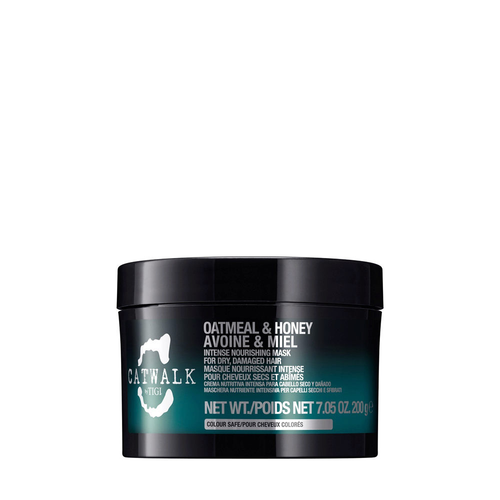 Tigi Catwalk Oatmeal & Honey mask 200gr - maschera avena e miele
