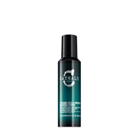 Tigi Catwalk Strong Hold Mousse 200ml - spuma tenuta forte