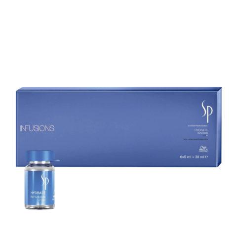 Wella SP Hydrate Infusion 6x5ml - Trattamento Intensivo Idratante