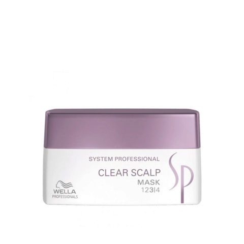 Wella System Professional Clear Scalp Mask 200ml - maschera antiforfora