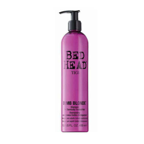Tigi Bed Head Dumb Blonde Shampoo 400ml - per capelli trattati biondi