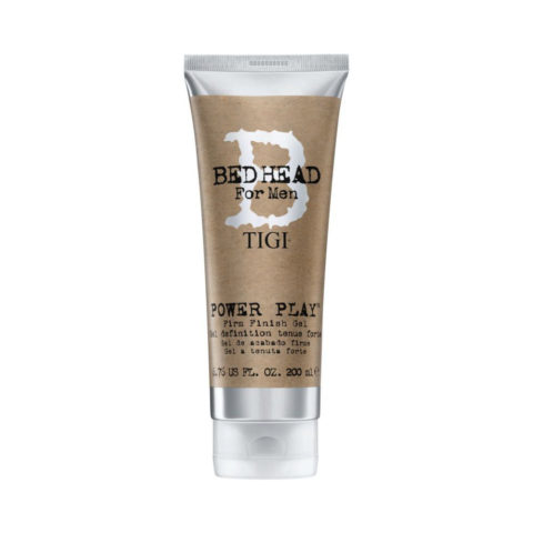 TIGI Bed Head Men Power Play Gel 200ml - gel a tenuta forte