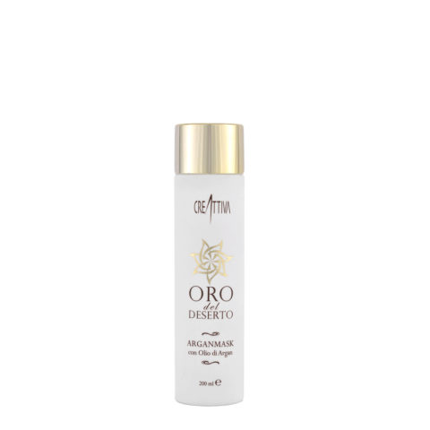 Erilia Oro del Deserto Argan Mask 200ml - maschera all'olio di Argan