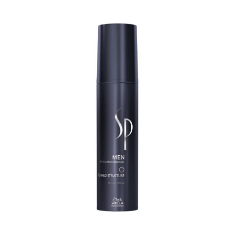 Wella SP Men Defined Structure 100ml - Crema Morbida Rimodellabile