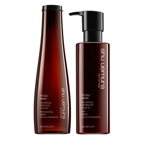 Shusu Sleek Kit1 Shusu Sleek Shampoo 300ml Conditioner 250ml