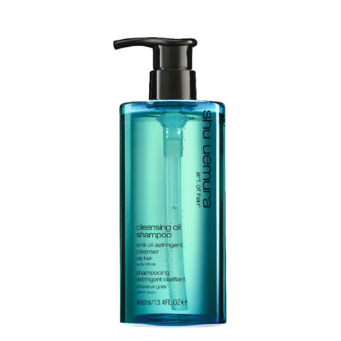 Shu Uemura Cleansing oil Shampoo Anti-oil astringent 400ml - shampoo per capelli grassi