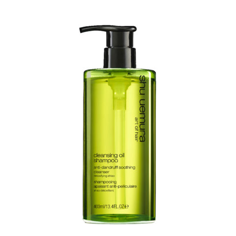 Shu Uemura Cleansing oil Shampoo Anti-dandruff 400ml - shampoo lenitivo antiforfora