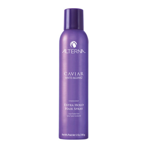 Alterna Caviar Anti aging Styling Extra hold hair spray 340gr - lacca tenuta forte spazzolabile