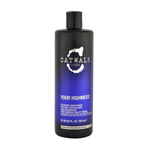 Tigi CatWalk Your Highness Elevating Conditioner 750ml - balsamo volumizzante