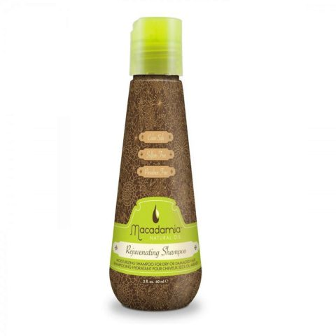 Macadamia Rejuvenating shampoo 100ml - Shampoo idratante all'Olio di Macadamia