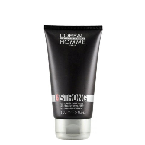 L'Oreal Homme styling Strong 150ml - gel fissaggio extra forte