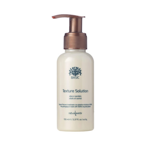 Naturalmente Basic Texture solution aloe e sandalo gel crema modellante multivitaminico 100ml