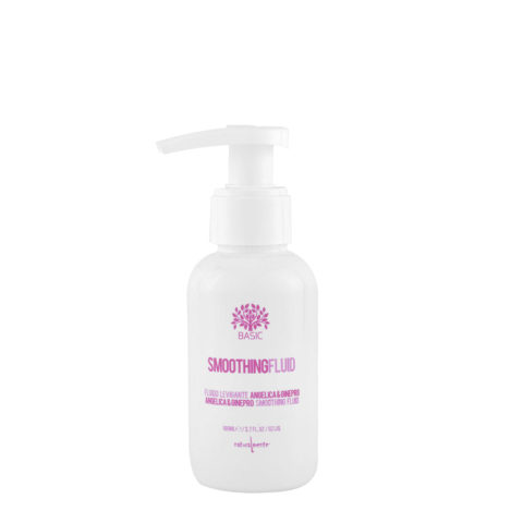 Naturalmente Basic Smoothing solution angelica e ginepro fluido stirante vegetale 100ml