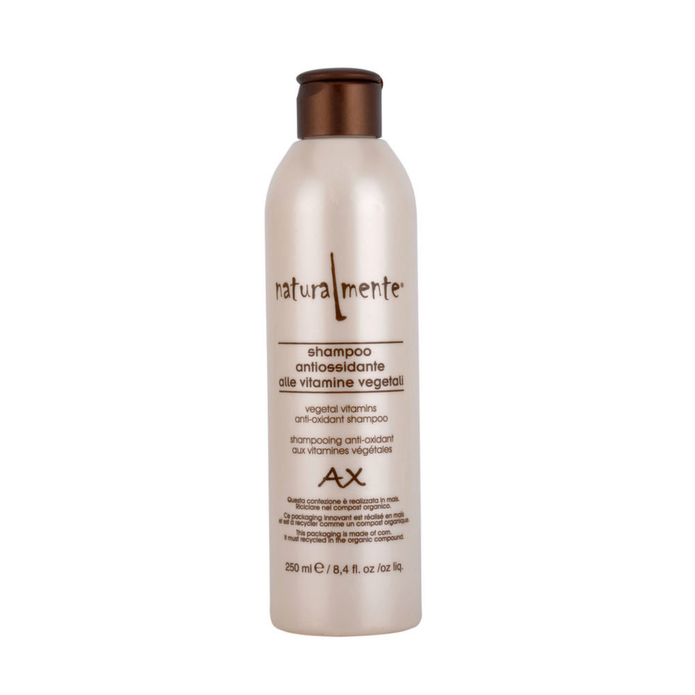 Naturalmente Basic Shampoo antiossidante post color antiage 250ml - ristrutturante e idratante
