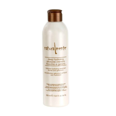 Naturalmente Basic Deep hydrating conditioner Finocchio e geranio 250ml - balsamo idratante