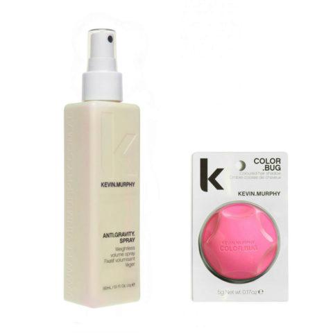 Kevin murphy Styling Kit Color bug rosa 5gr   Anti gravity spray 150ml