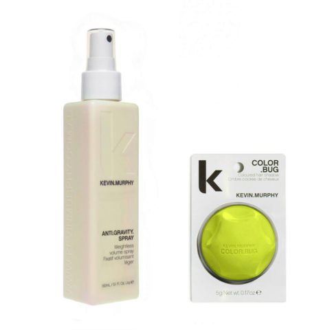Kevin Murphy Kit Color bug giallo fluorescente 5gr   Anti gravity spray 150ml
