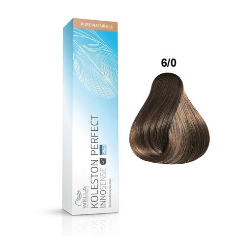 6/0 Biondo scuro Wella Koleston Perfect innosense Pure naturals 60ml