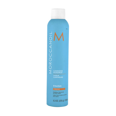 Moroccanoil Luminous Hairspray Finish Strong 330ml - lacca forte