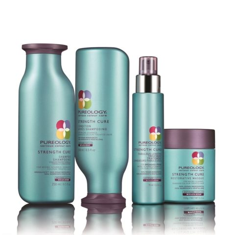 Pureology Strength cure Shampoo   Conditioner   masque   Fabulous lengths