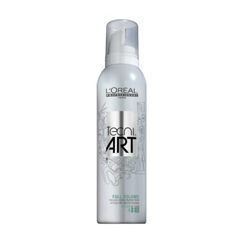 L'Oreal Tecni art Volume Full volume 4 250ml - mousse