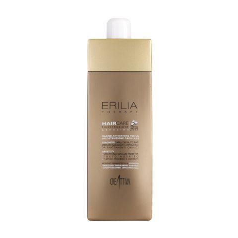 Erilia Haircare Keralink Bagno Attivatore Ricostruzione Capillare 750ml - shampoo per capelli danneggiati