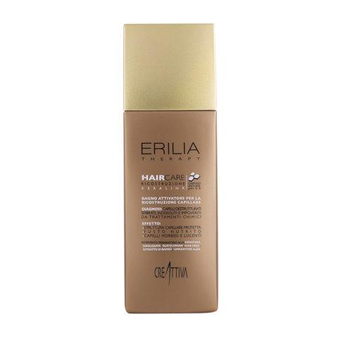 Erilia Haircare Keralink Bagno Attivatore Ricostruzione Capillare 250ml - shampoo per capelli danneggiati