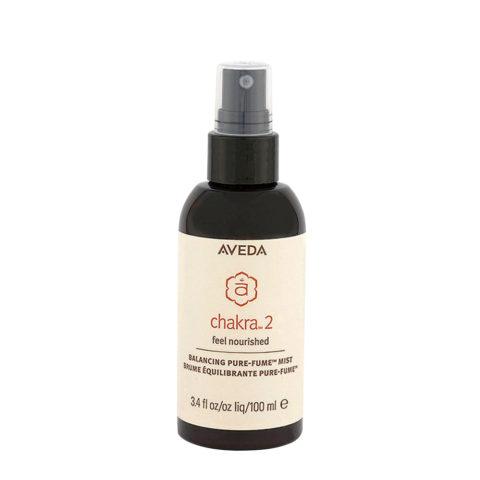 Aveda Chakra 2 Balancing Pure-Fume Mist 100ml - Profumo Corpo Equilibrante - Vitalità