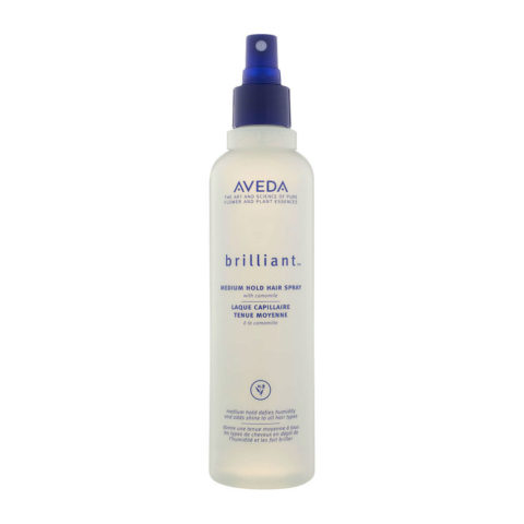 Aveda Styling Brilliant Medium hold hair spray 250ml - lacca lucidante tenuta media